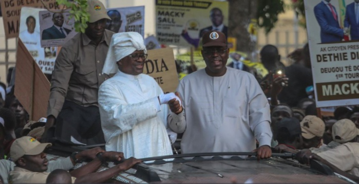 Photos : Serigne Modou Kara est venu soutenir Macky Sall à Thiès
