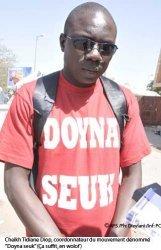 Cheikh Tidiane Diop de Doyna Seuk : « Plutôt vous partirez, mieux ce sera »