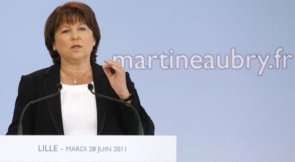 Candidature Aubry : le défi com' de la Première secrétaire