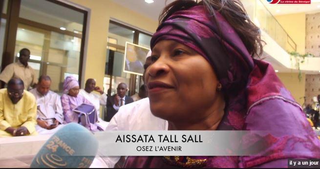 Ndioum: Aïssata Tall Sall tacle sévèrement Me Wade
