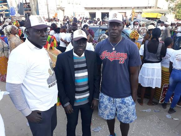 Caravane de Macky Sall à Pikine : Mobilisaton de « Macky FOREVER » du journaliste Jamil Thiam à Tivaouane Diacksao