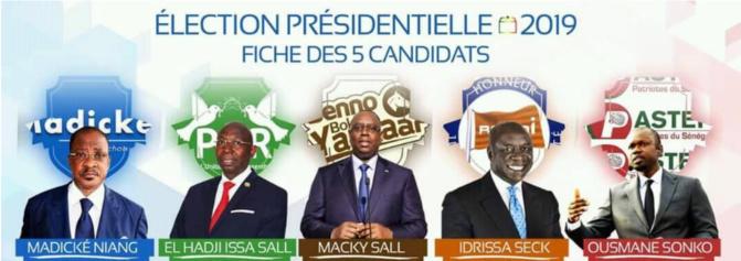 Aucun candidat ne votera à Dakar