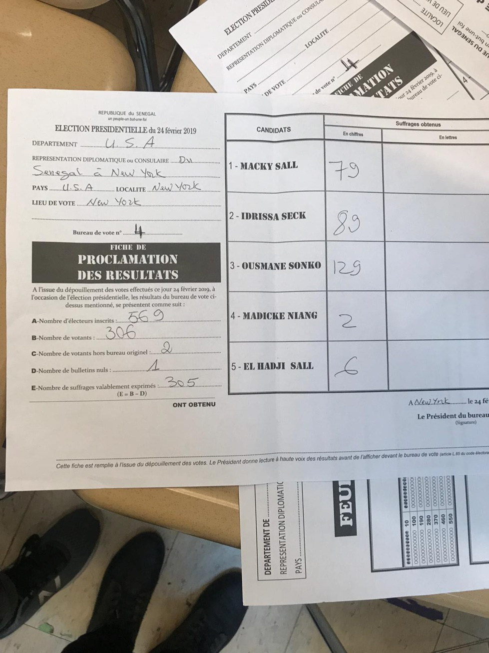 Présidentielle : les premiers résultats de New York viennent de tomber ! (photo)