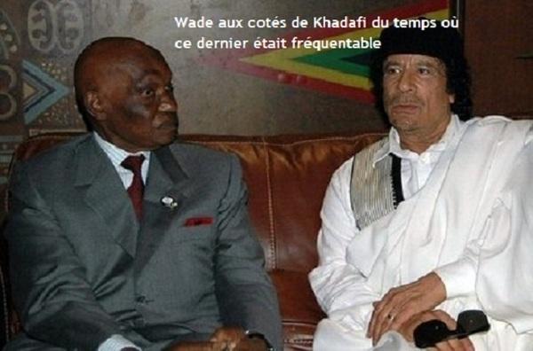 Abdoulaye Wade aurait reçu de l'argent pour intervenir dans la crise libyenne