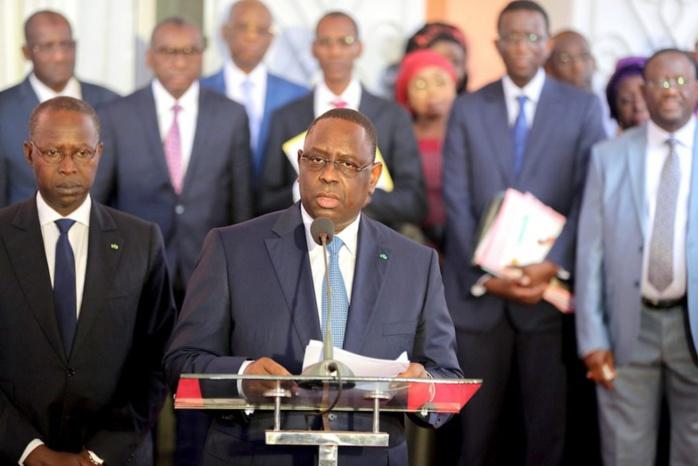 Conseil des ministres: Macky Sall demande à son PM de préparer son investiture