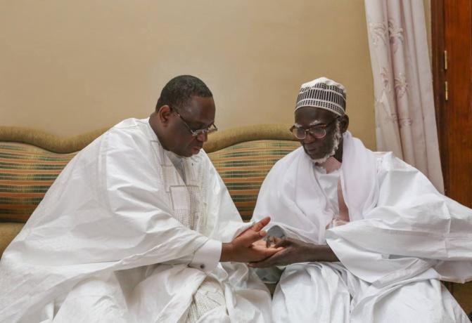 Serigne Cheikh Mbacké Baly, fils du khalife des mourides: « il n'y a aucun contact téléphonique entre mon père et le président Sall »