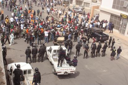 UCAD : des étudiants manifestent après la proclamation des résultats