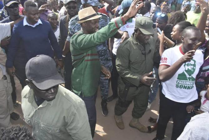 Ziguinchor : Deux partisans de Sonko arrêtés...