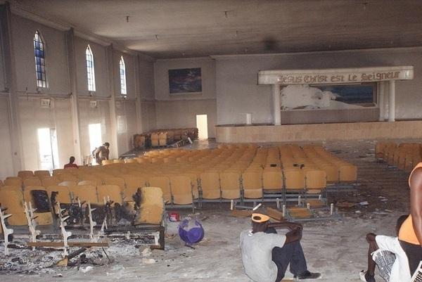 Attaque des églises de la fraternité évangélique : « C'est un miracle de Dieu»