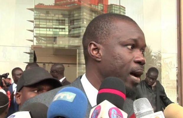 La réaction de Sonko à l'appel au dialogue de Macky Sall