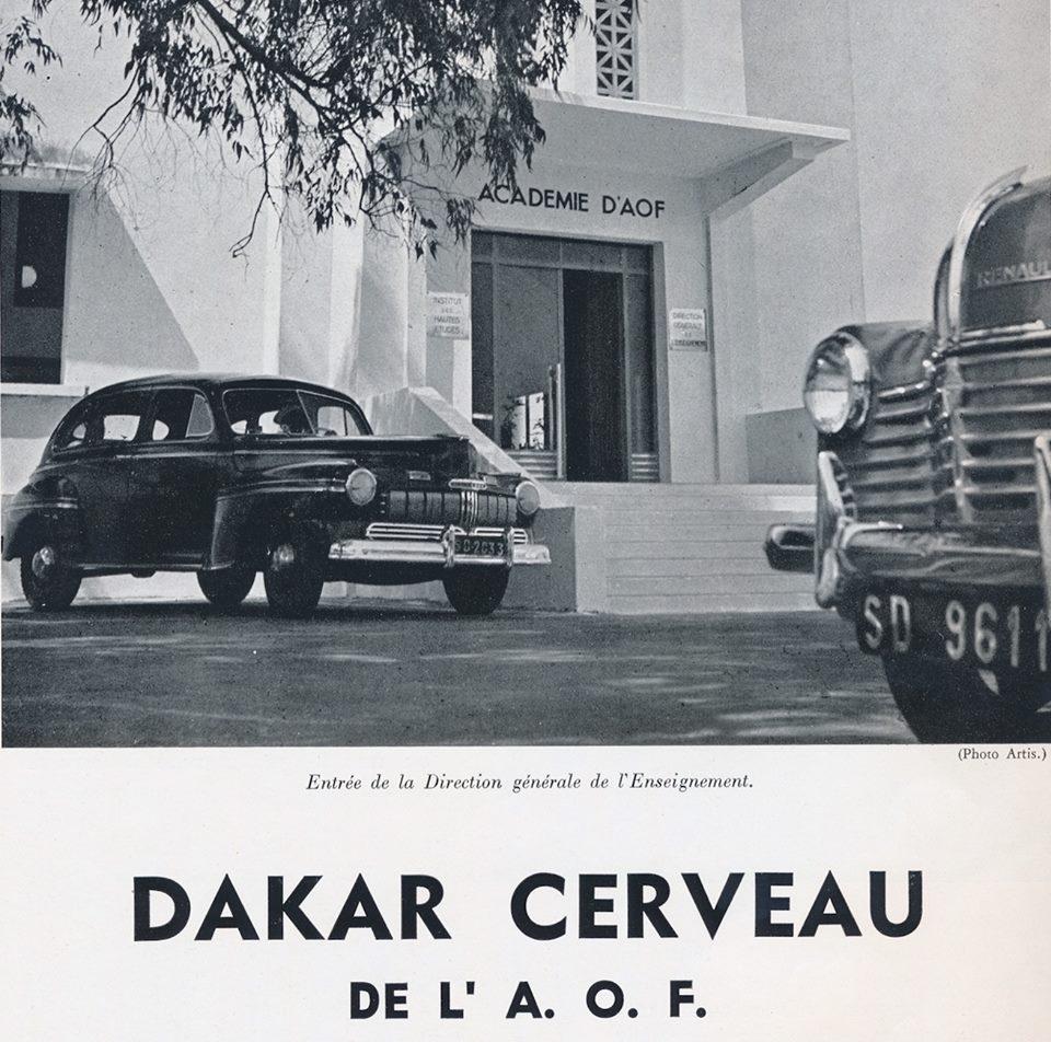Carte postale - Dakar, cerveau de l'AOF