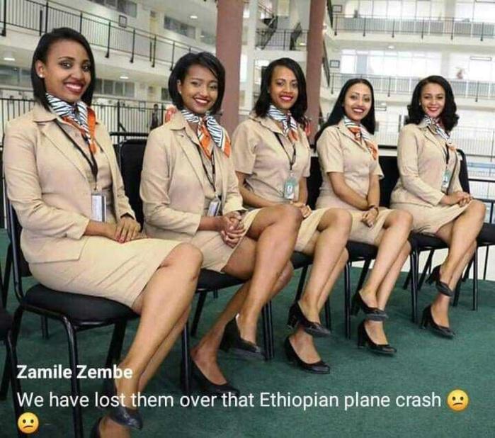 Photos : Ces belle hôtesses disparues dans le crash de l'avion d'Ethiopian Airlines