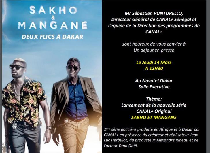 SAKHO ET MANGANE, venez découvrir la 1ère série policière produite en Afrique et à Dakar