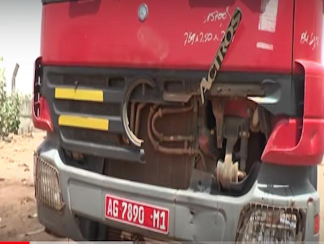 Kaolack: L'épouse succombe à ses blessures et rejoint son mari écrasé par un camion malien