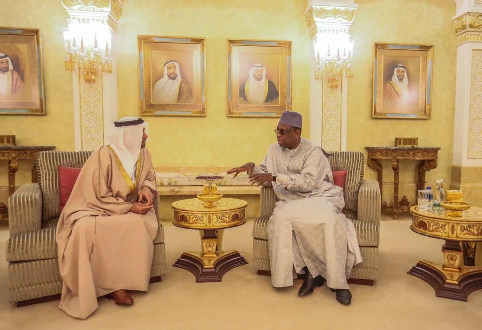 Émirats Arabes Unis : Macky et Marième Faye Sall se posent à Abu Dhabi