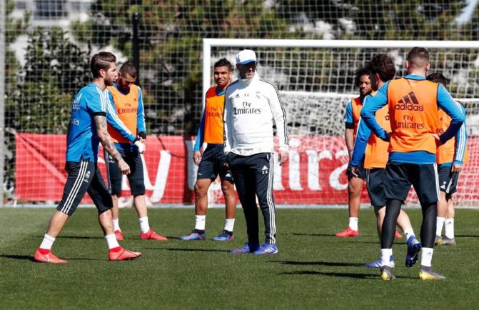 PHOTOS - Real Madrid: Les émouvantes retrouvailles de Zidane avec Sergio Ramos et Marcelo