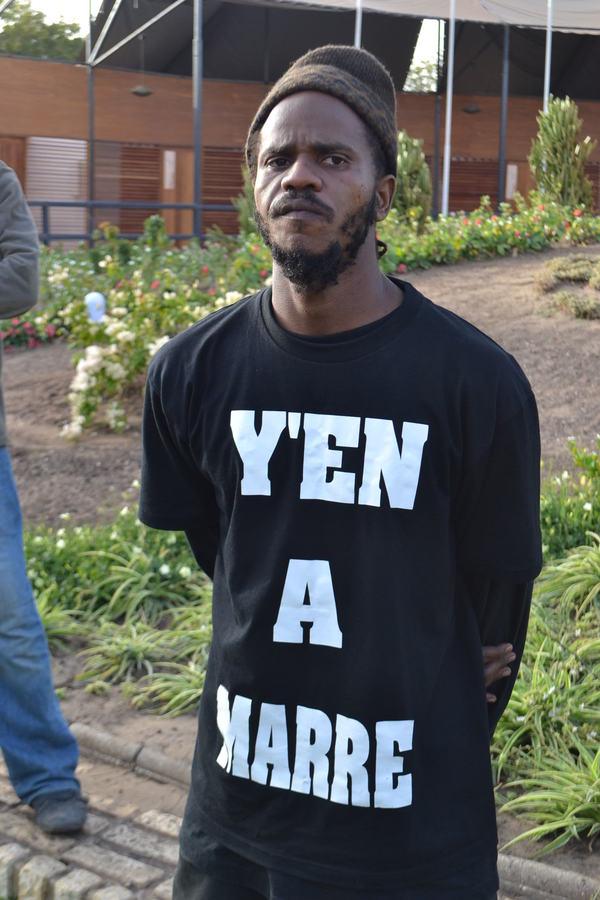 Un rappeur sénégalais libre
