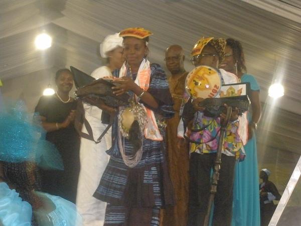 Enock Mikiadi du Congo et Fatoumata Binta Diallo de la Gambie : Sacrés roi et reine de la 5éme  édition du festival au royaume des enfants
