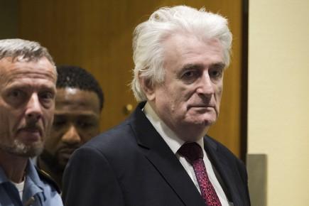 La prison à vie pour Radovan Karadzic — Génocide en Bosnie