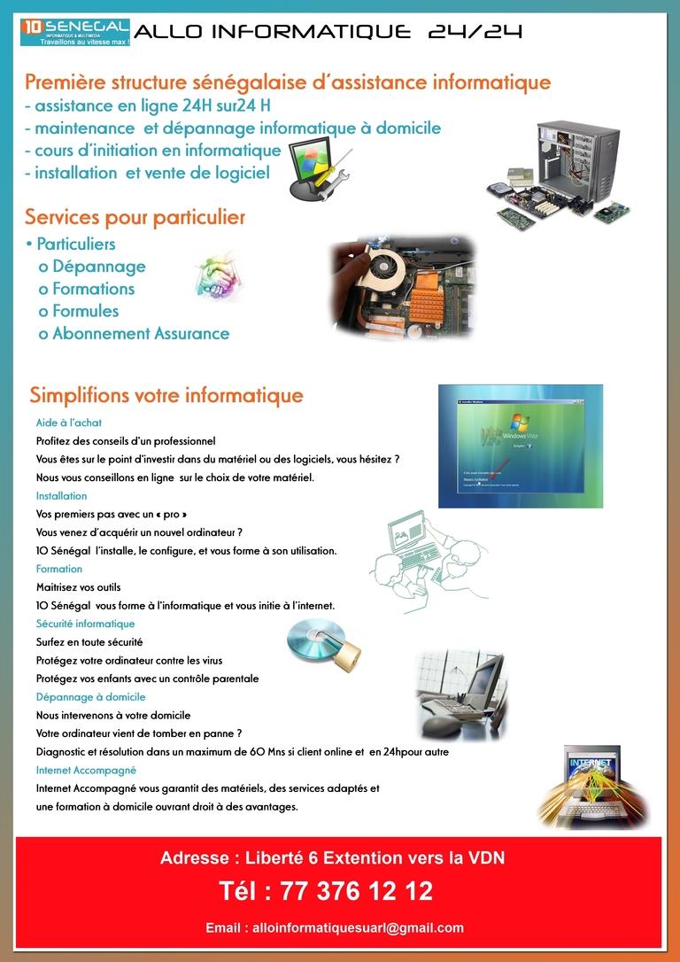 Allo Informatique Sénégal