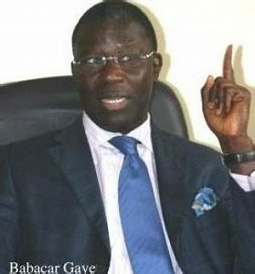 Babacar Gaye prépare le grand saut