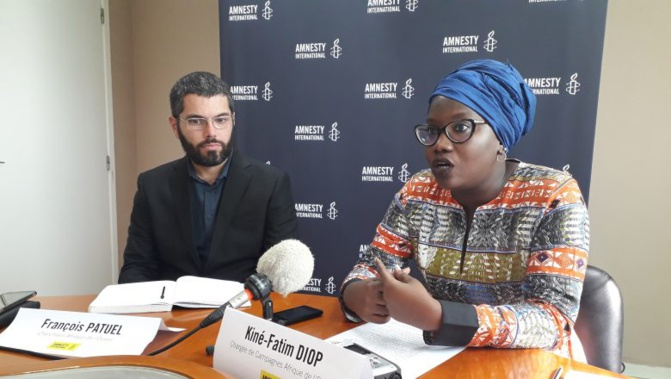 Kiné Fatim Diop d'Amnesty international expulsée de la Mauritanie