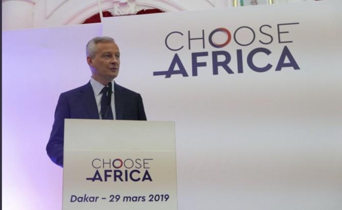 """Programme """"Choose Africa"""" : la France annonce plus de 1600 milliards pour les PME africaines d'ici 2022"""