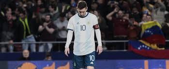 FOOT - Argentine : Rarissime, Lionel Messi vide son sac !
