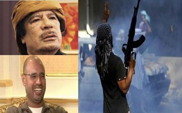 VIOLENTS COMBATS PRÈS DE LA RÉSIDENCE DE KADHAFI