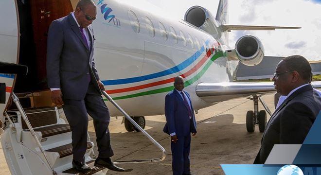 Prestation de serment de Macky Sall:  Alpha Condé est arrivé à Dakar
