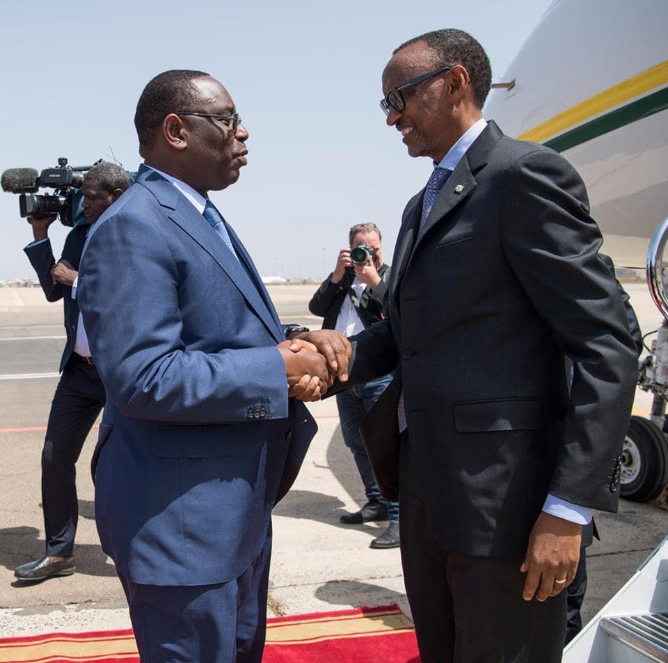 Photos : Le Président de Paul Kagame à Dakar pour la prestation de serment de Macky Sall