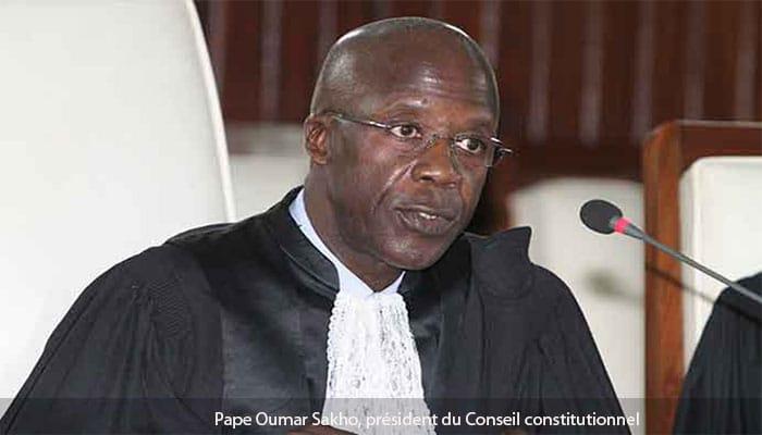 Prestation de serment de Macky Sall : Le Discours du président du Conseil Constitutionnel du Sénégal