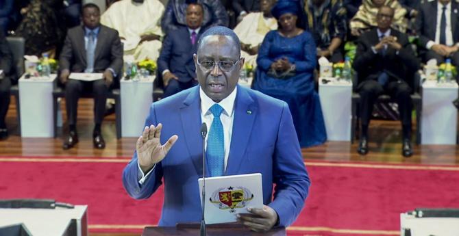 """VIDEO - Macky Sall prête serment: """"Devant Dieu et la Nation sénégalaise, je jure de remplir fidèlement la charge..."""""""