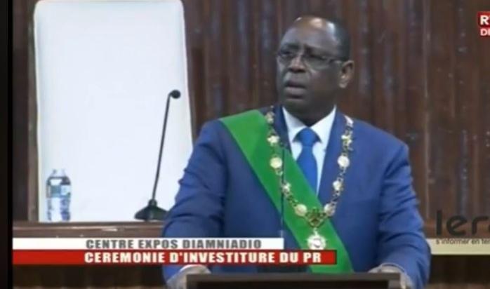 Macky Sall : « Je renouvelle mon appel au dialogue sans exclusive »
