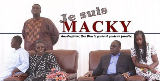Macky Sall rend hommage à Marième Faye Sall et à sa famille