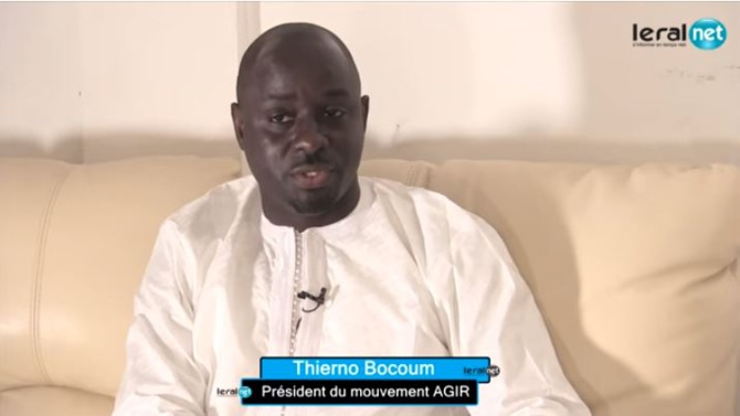Thierno Bocoum : « Macky Sall avait une belle occasion d'exprimer toute sa motivation d'accomplir son dernier mandat »