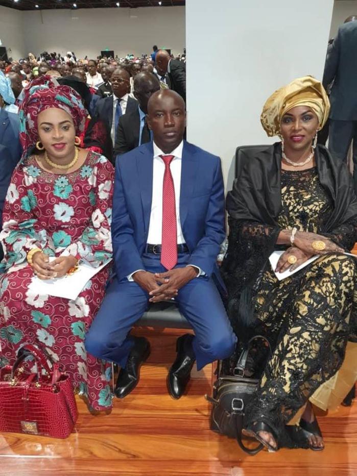 Photos : Aly Ngouille Ndiaye avec ses épouses à la prestation de serment du Pdt Macky Sall