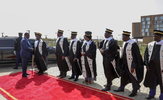 Prestation de serment de Macky Sall: Les « gaffes » du président du Conseil constitutionnel