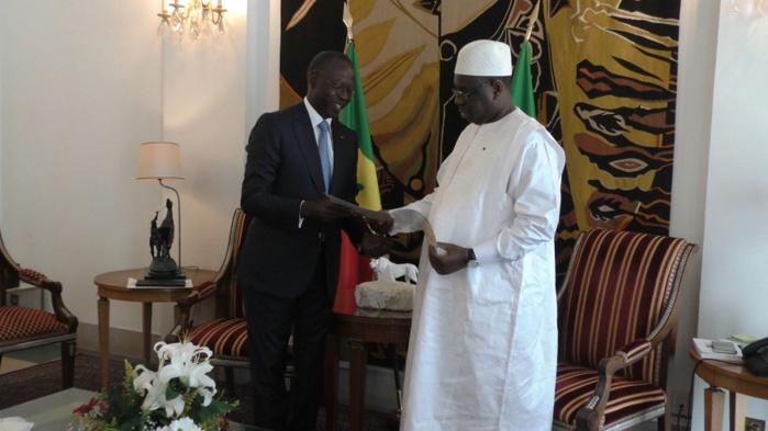 Gouvernement: Macky Sall maintient Dionne à la Primature