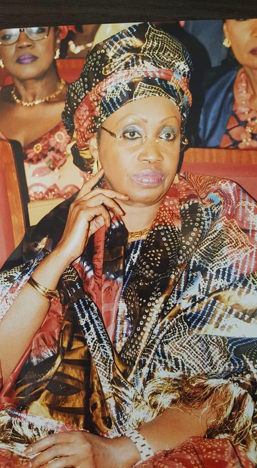 Photos : Me Nafissatou Diop rend un hommage poignant à sa mère
