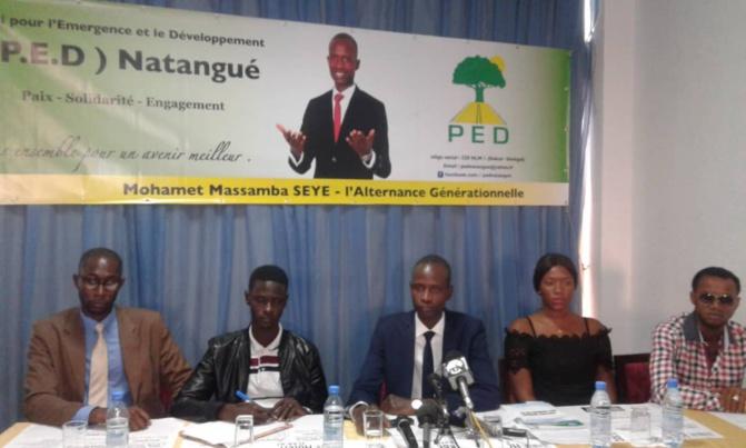Mohamet Massamba Sèye, président P.E.D / Natangué: