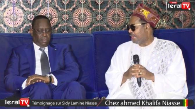Ahmed Khalifa Niasse préconise un pré-dialogue entre l'opposition et le camp présidentiel
