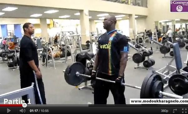 VIDEO : L'intégralité d'une séance d'entraînement de Modou Lô aux Etats Unis
