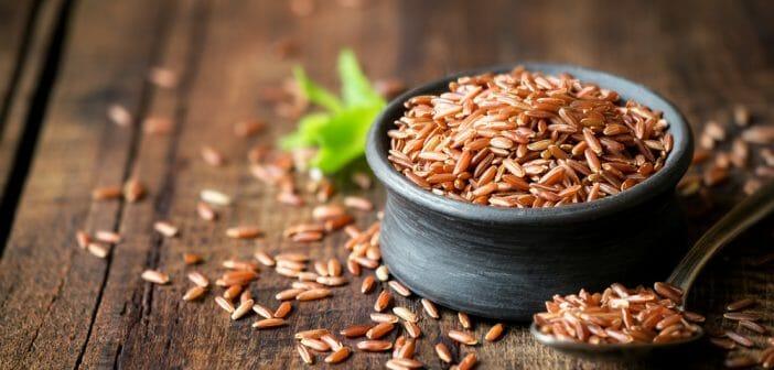 Une cure de riz rouge pour mincir rapidement