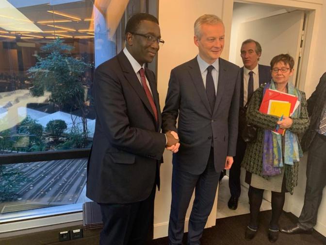 Amadou Bâ quitte les Finances pour les Affaires étrangères