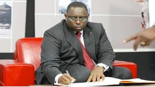 Gouvernement : Macky nomme les Secrétaires d'Etats