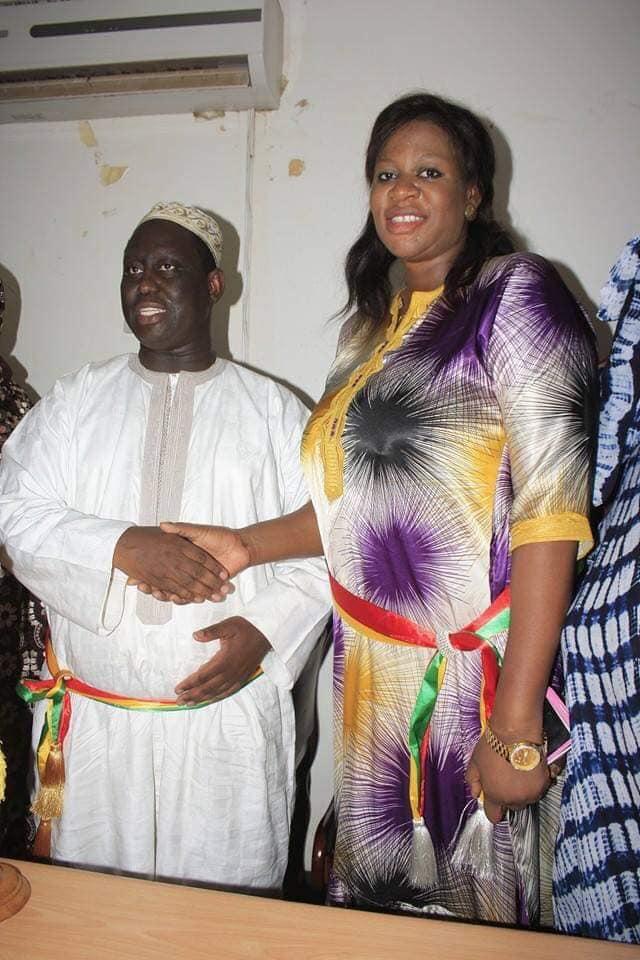 Aliou Sall félicite Macky Sall et Néné Fatoumata Tall, Madame Mbaye est un modèle d'engagement et de loyauté...