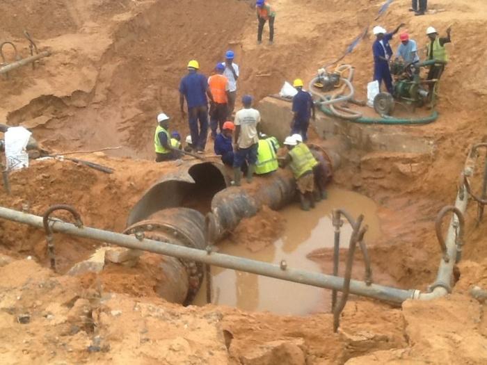 ALERTE- Le tuyau du Lac de Guiers endommagé : Louga, Thiès, Dakar et ses banlieues privées d'eau