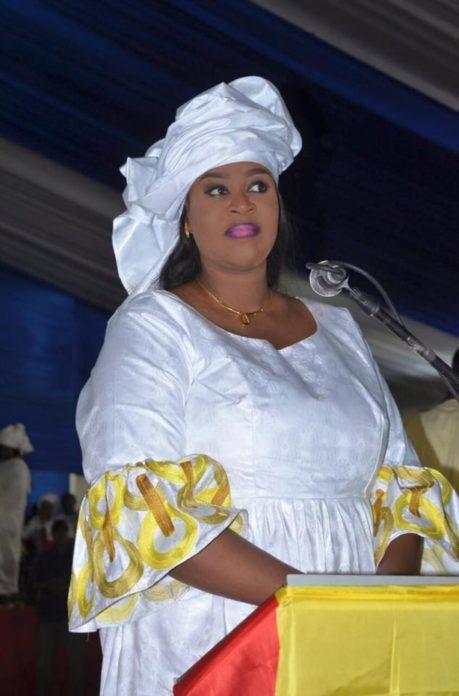 Photos : Néné Fatoumata Sall, une diongoma au ministère de la Jeunesse