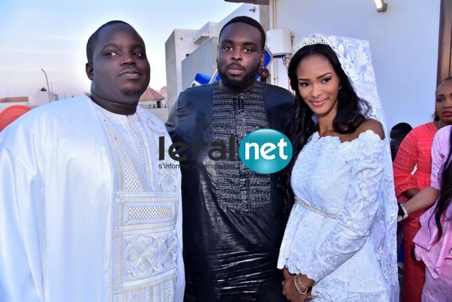Mariage de Mamadou SECK fils de Amadou SECK DG de Eurogerm : Le chef de l'Etat était à la mosquée